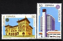 SPANIEN MI-NR. 2937-2938 POSTFRISCH(MINT) EUROPA 1990 - POSTALISCHE EINRICHTUNGEN - 1990