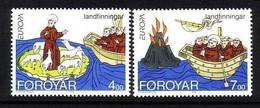FÄRÖER MI-NR. 260-261 I POSTFRISCH(MINT) EUROPA 1994 ENTDECKUNGEN Und ERFINDUNGEN - 1994