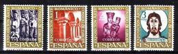 SPANIEN MI-NR. 1260-1263 POSTFRISCH(MINT) MITLÄUFER 1961 - ROMANISCHE KUNST - Europäischer Gedanke