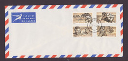 South West Africa  1978 Hottentot Tribal Set With Ostrich ,  Windhoek  Cancel - Ostriches