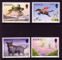JERSEY MI-NR. 783-786 POSTFRISCH(MINT) EUROPA 1997 SAGEN Und LEGENDEN - Jersey