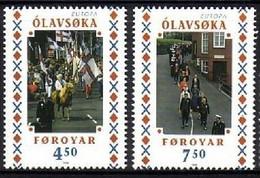 FÄRÖER MI-NR. 338-339 POSTFRISCH(MINT) EUROPA 1998 FESTE Und FEIERTAGE - 1998