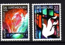 LUXEMBOURG MI-NR. 1451-1452 POSTFRISCH(MINT) EUROPA 1998 - FESTE Und FEIERTAGE - 1998