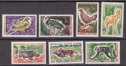 Côte D'Ivoire 1963 Yvert 211,212, 214, 214A, 217, 219, 220 ** Neufs Sans Charniere. Chasse Et Tourisme - Côte D'Ivoire (1960-...)