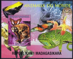 Madagascar 1999 Local Animals : Maki - Madagascar (1960-...)