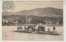 Ain Port De GROSLEE Et Montagnes Du Bugey (bac Attelage Animation) - Andere Gemeenten