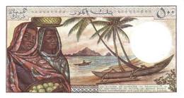 COMOROS P.  7a 500 F 1976 UNC (s. 4) - Comoros