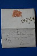 H2 ESPAGNE BELLE LETTRE 1835  CATALUNA BARCELONA + AFFRANCH. INTERESSANT - ...-1850 Préphilatélie