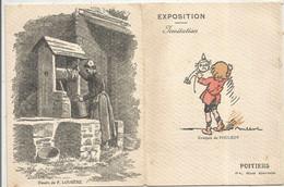 Invitation, Le Groupement D'Artistes Français ,Poitiers, 1920, , Dessins De Fabiano, Poulbot....frais Fr 1.75e - Non Classificati