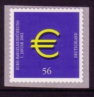DEUTSCHLAND MI-NR. 2236 POSTFRISCH EURO EINFÜHRUNG SELBSTKL. BRIEFMARKE - European Ideas