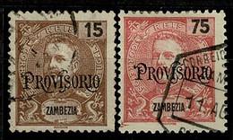 Zambézia, 1902, # 42, 45, Used - Sambesi (Zambezi)