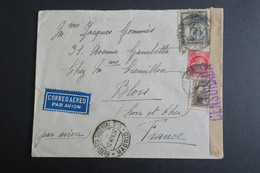 Lettre Espagne Madrid Estafeta Succursale  1937 Censura Militar  , Lettre Censure Militaire  Pour La France - 1931-50 Covers