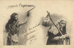 Bergeret  1903 J'apporte L'esperance RV - Andere