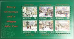 Guernsey 2000 Christmas Sheetlet MNH - Guernsey