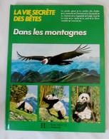 """LA VIE SECRETE DES BETES """"Dans Les Montagnes"""" - HACHETTE Jeunesse 1987 - Hachette"""