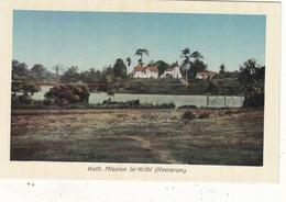 """CROISEUR """" POTHUAU """" MISSION CATHOLIQUE DE KRIBI AU CAMEROUM.ALL. OCCUPE PAR LES MARINS  DU 13/12/1914 AU 28/02/1915.T.B - Warships"""