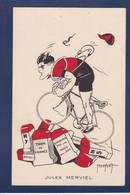 CPA Cyclisme Cycle Vélo Cycliste Jules Merviel Par Abel Petit Tour De France Non Circulé - Ciclismo