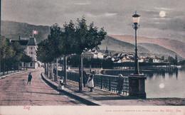 Zoug, Hôtel Rigi Et Rive Du Lac Au Clair De Lune (5627) - ZG Zug