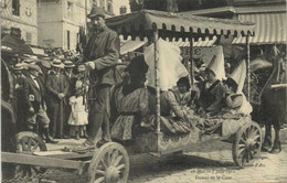 COMPIEGNE  Fetes En L' Honneur De JEANNE D'ARC  28 Mai  5 Juin 1911 Dames De La Cour RV Beay Cachet Vieux Moulin Oise - Boston