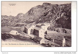 REF12.798   SUISSE  . VALAIS. VUE GENERALE DE L'HOSPICE DU GRAND SAINT-BERNARD - VS Valais