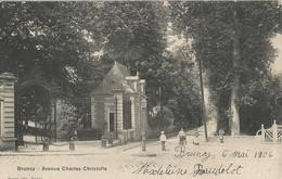 CPA - Brunoy - Avenue Charles Christofle - Brunoy