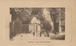 CPA - Brunoy - Avenue Charles Christofle - - Brunoy