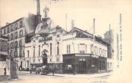 92 - LEVALLOIS PERRET : Rue Des Arts - Lavoir De La Fontaine ( Attelage ) - CPA  - Hauts De Seine - Levallois Perret