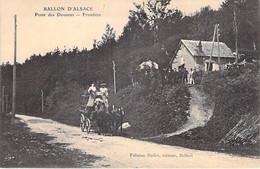 68 - BALLON D'ALSACE : Poste Des Douanes - Frontière ( Attelage En 1er Plan ) CPA  - Haut Rhin - Douane