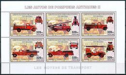 D - [30738]SUP//**/Mnh-RD CONGO 2006 - Les Moyens De Transports. Camions De Pompiers Antique. - Brandweer