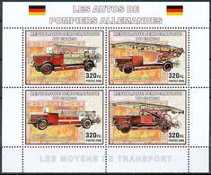 D - [30781]SUP//**/Mnh-RD CONGO 2006 - Les Moyens De Transports. Camions De Pompiers Allemands. - Brandweer