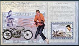 D - [30931]SUP//**/Mnh-RD CONGO 2006 - Les Moyens De Transports - Harley - Davidson - Model 11J 1915. - Motorfietsen