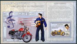 D - [30937]SUP//**/Mnh-RD CONGO 2006 - Les Moyens De Transports - Harley - Davidson - HydraGlide 1950. - Motorfietsen