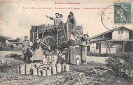 COX, Près CADOURS - Fabricants De Poteries - Chargement De Casseroles (vendue En L'état) - Other Municipalities
