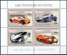 D - [31119]SUP//**/Mnh-RD CONGO 2006 - Les Moyens De Transports - Les Voitures Du Futur. - Auto's