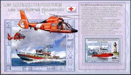 D - [31144]SUP//**/Mnh-RD CONGO 2006 - Les Moyens De Transports - Les Bateaux De Pompiers. - Brandweer