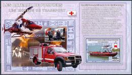 D - [31150]SUP//**/Mnh-RD CONGO 2006 - Les Moyens De Transports - Les Bateaux De Pompiers. - Brandweer