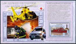 D - [31153]SUP//**/Mnh-RD CONGO 2006 - Les Moyens De Transports - Les Bateaux De Pompiers. - Brandweer