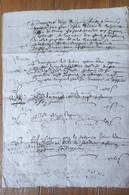 Ardèche Satillieu 1658 - Manoscritti