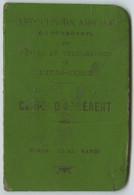 Viêt-Nam. Carte D'adhérent De L'Association Amicale Du Personnel Des Postes Et Télégraphes De L'Indochine. Hanoï 1905. - Non Classificati