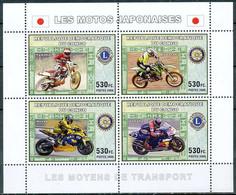 D - [33469]SUP//**/Mnh-RD CONGO 2006 - Les Moyens De Transports - Les Motos Japonaises. - Motorfietsen