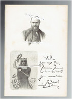 LUCIEN LEVY DHURMER 1865 ALGER 1953 LE VESINET PEINTRE SCULPTEUR CERAMISTE PORTRAIT AUTOGRAPHE BIOGRAPHIE ALBUM MARIANI - Documenti Storici
