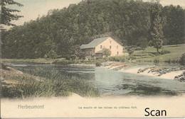 Herbeumont - Le Moulin Et Les Ruines Du Château Fo  - Nels - Série 40 - No. 196 - Une Des 305 - Carte Postale En Couleur - Herbeumont