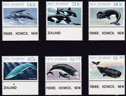 NZ20 – NEW ZEALAND – 1988 – ROSS ISSUES - Y&T # 21/26 MNH – CV 14 € - Unused Stamps