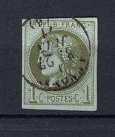 Frankreich Mi.36 Gestempelt Kat.100,-€ - 1870 Ausgabe Bordeaux