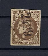 Frankreich Mi.42a Gestempelt Kat.260,-€ - 1870 Ausgabe Bordeaux
