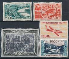EC-351: FRANCE: Lot Avec PA* N°25-27-29-(32/33: Rouille Au Verso) - 1927-1959 Mint/hinged