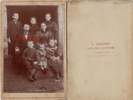 Grand CDV-(CAB) Fin XIXe Famille Marseillaise-photo A. Vanaret Dessinateur Photographe à Marseille - Anciennes (Av. 1900)