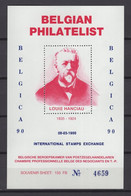 BELGICA 90 Louis Hanciau BLOKJE A114 - Commemorative Labels