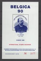 BELGICA 90 JB MOENS BLOKJE A52 - Commemorative Labels