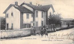 30 - CANNES ET CLAIRAN : Le Presbytère ( Animation - Enfants ) CPA Village ( 1.950 H ) Gard - Andere Gemeenten